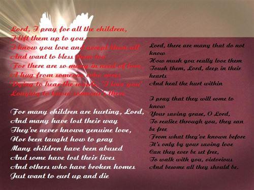 Parent's Day Prayers