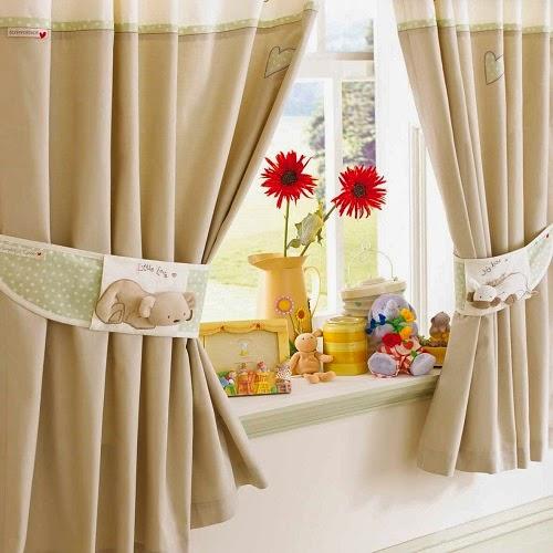Jolie Idée de décoration rideaux bébé