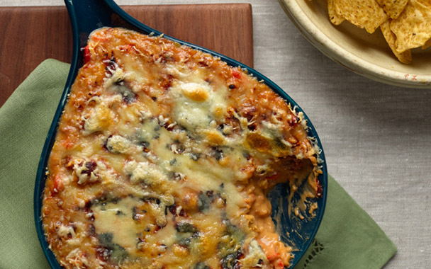 Queso Fundito with Chorizo from Gourmet
