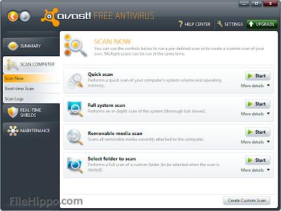 Free Avast 8.0.1489