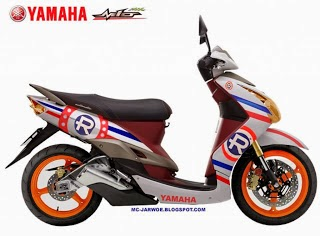 Foto Modifikasi Honda Beat Sporty
