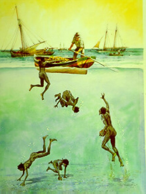 the story of pearl diver kino in the book the pearl Kino's profession — a simple pearl diver — requires with the discovery of the pearl, kino immediately thinks of removing #book# from your reading list.