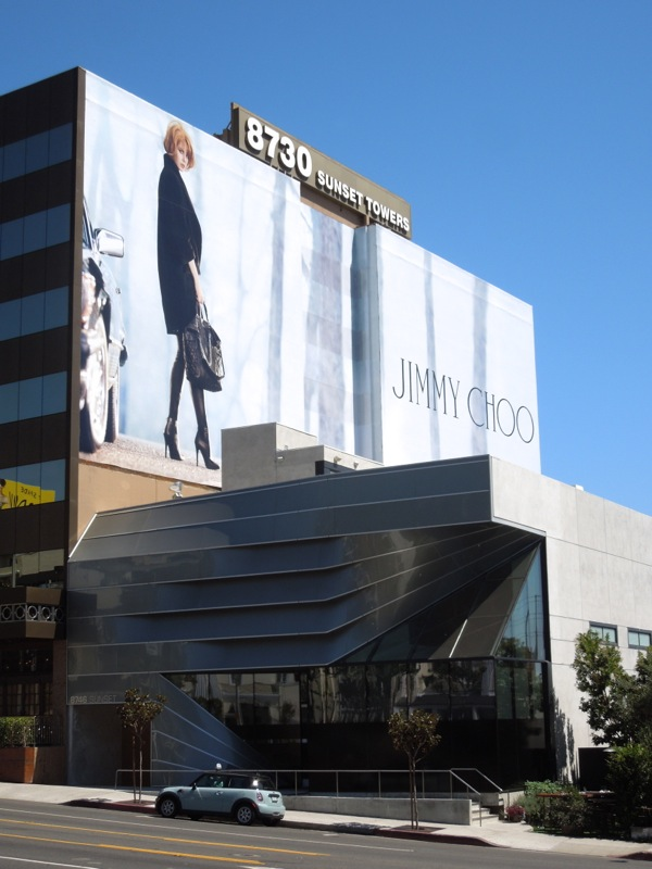Giant Jimmy Choo FW13 billboard