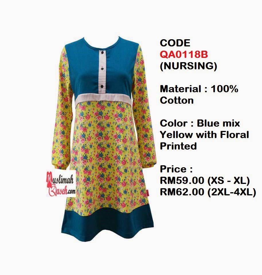 T-Shirt-Muslimah-Qaseh-QA0118B