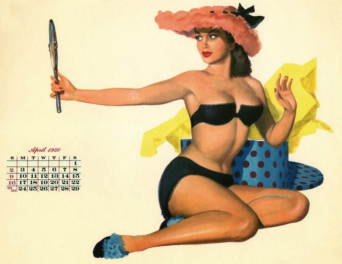 ©Al Moore - 1950 Calendar. Ilustración | Illustration