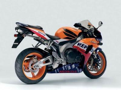 Honda CBR1000 RR :291kph