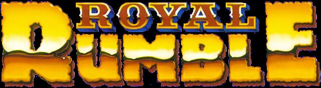 WWE Royal Rumble ppv old logo version
