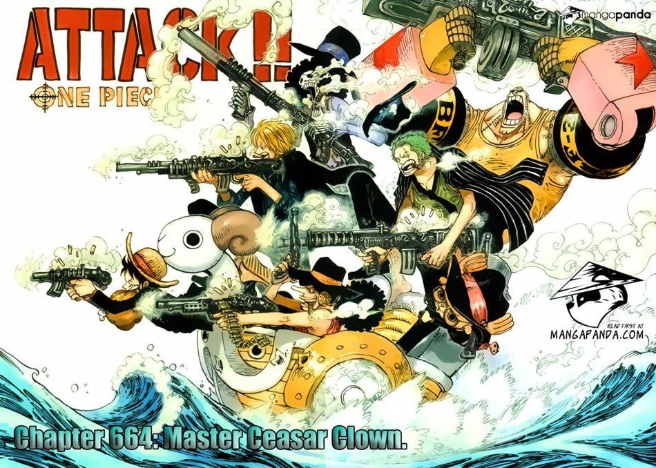 one piece 3233741 One Piece 664   Master Caesar Clown