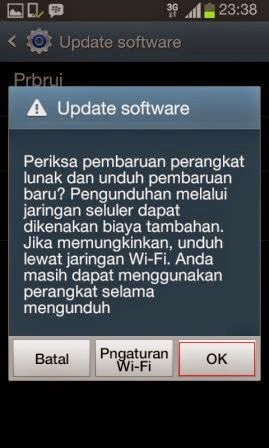 Upgrade Samsung OS Android