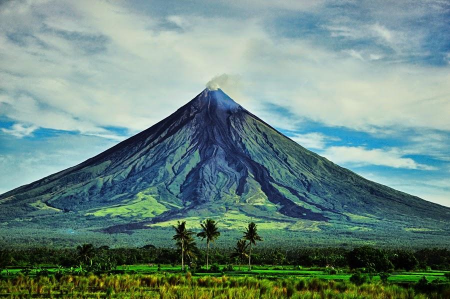 Objek Wisata Gunung Pilipina, Gunung Berapi Mayon