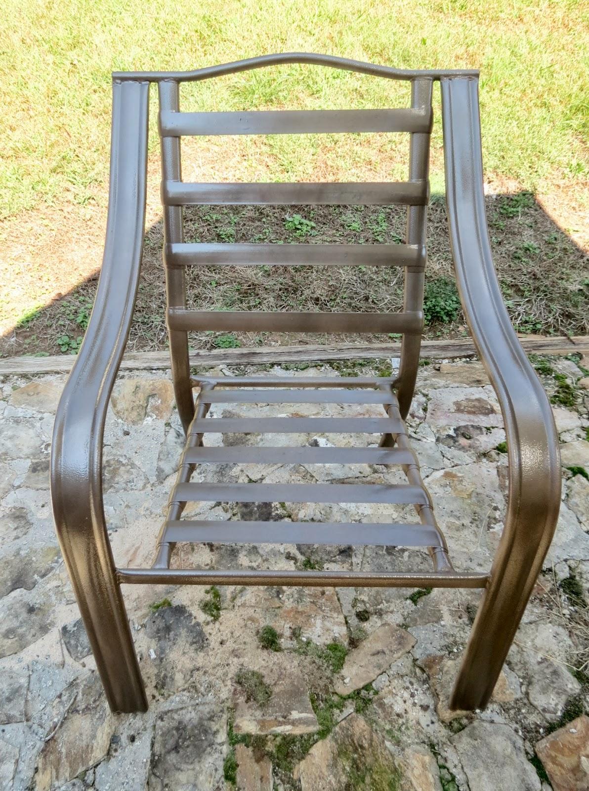 Patio Chair Spray Paint