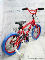 2 Sepeda Anak United Helichop Rangka Aloi 16 Inci