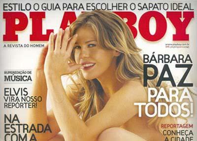playboy Barbara paz