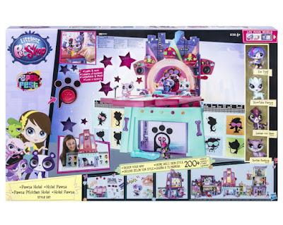 TOYS : JUGUETES - Littlest Pet Shop - Pawza Hotel  Producto Oficial 2015 | Hasbro B1240 | A partir de 4 años  Comprar Amazon España & buy Amazon USA