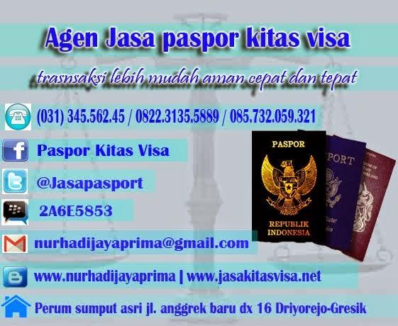 Jasa Paspor Kitas Visa