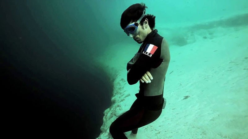 This Man Dives Into The Abyss… And It's Absolutely Terrifying!