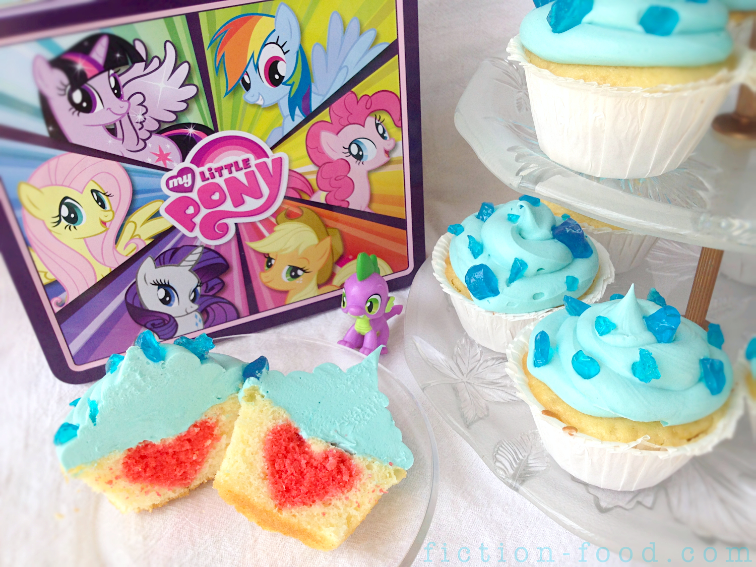 FictionFood Caf Sapphire Cupcakes from My Little Pony