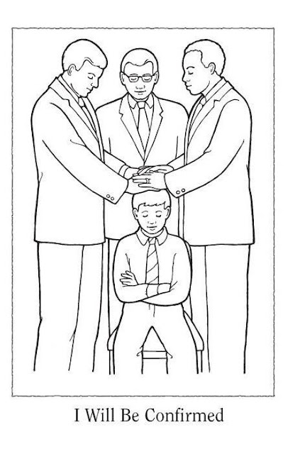 the holy ghost helps me coloring page - lds primary lesson coloring pages