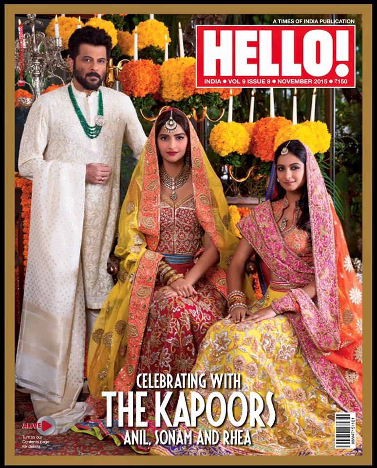 Sonam Kapoor n Anil Kapoor Photoshoot Image HD