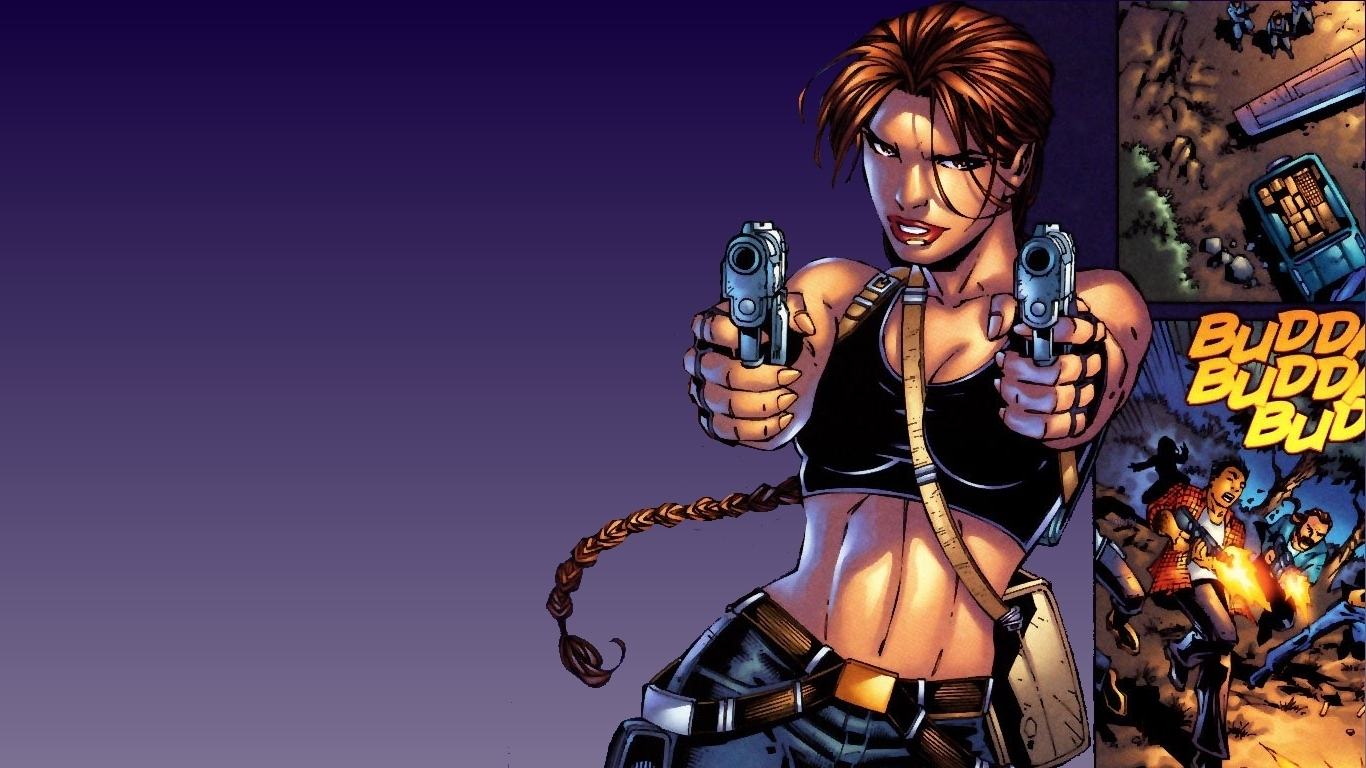 just walls tomb raider comic book wallpaper