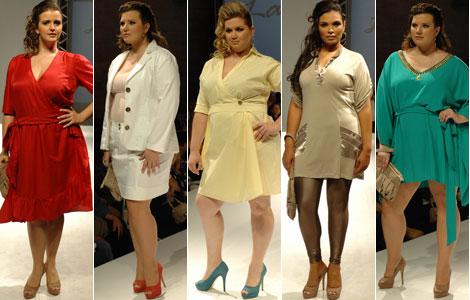 613 moda desfile plus size la mafe Moda Feminina   Roupas Tamanho Grande