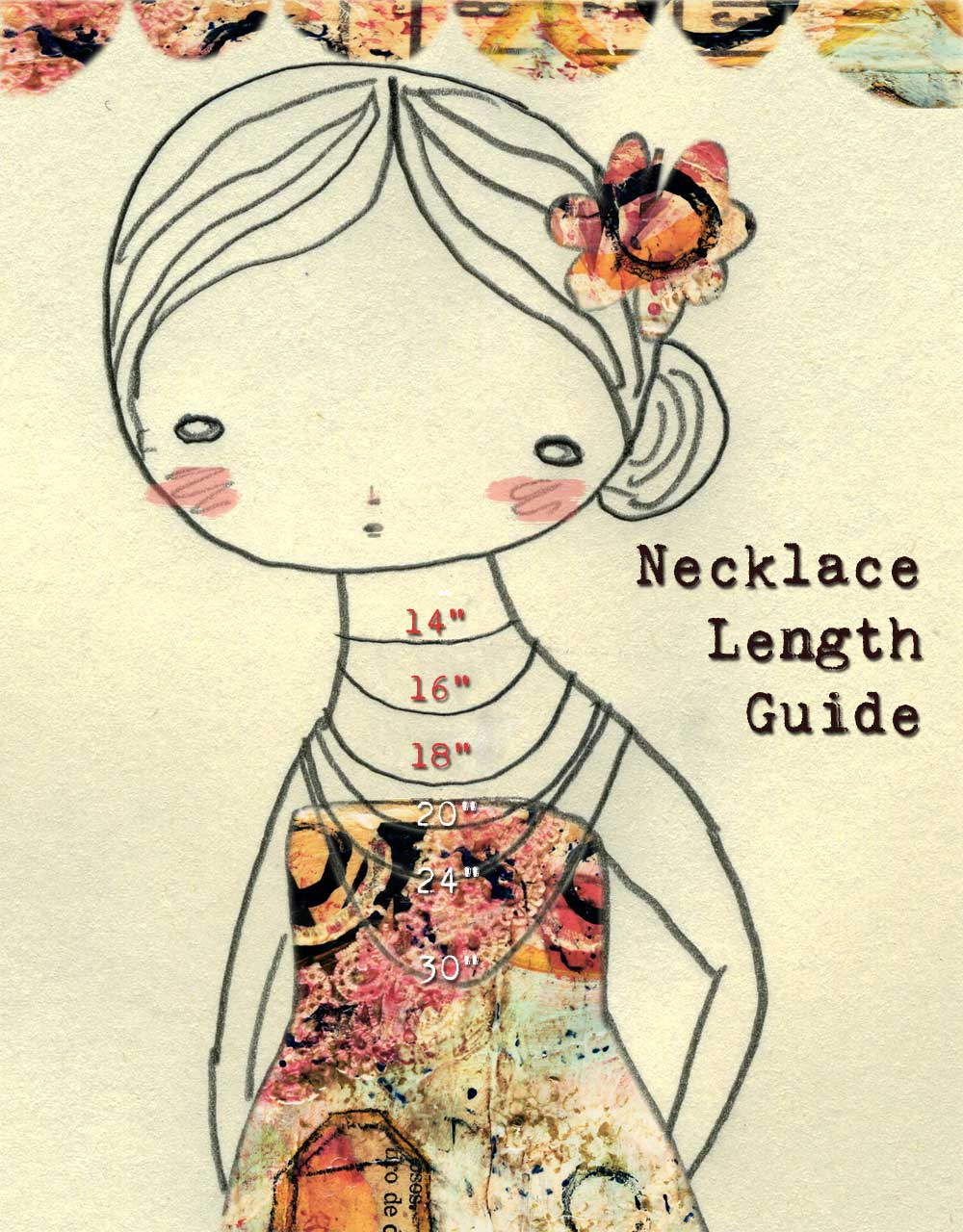 necklace length guide i need your help