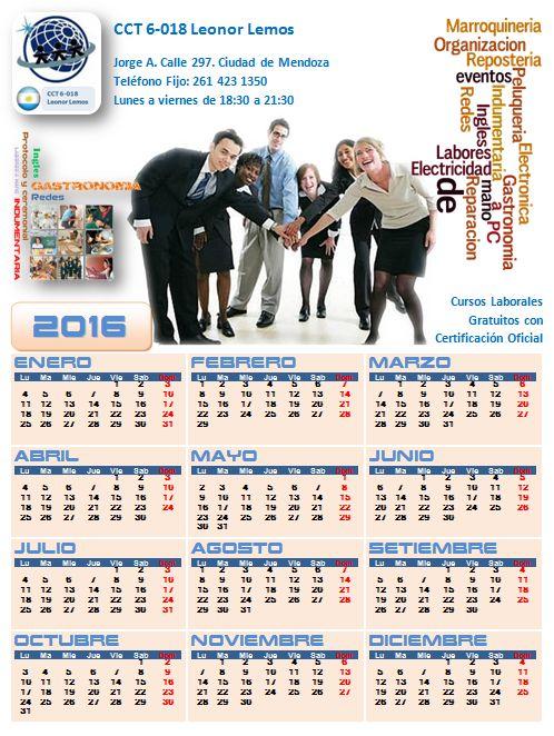 Descargá tu calendario 2016