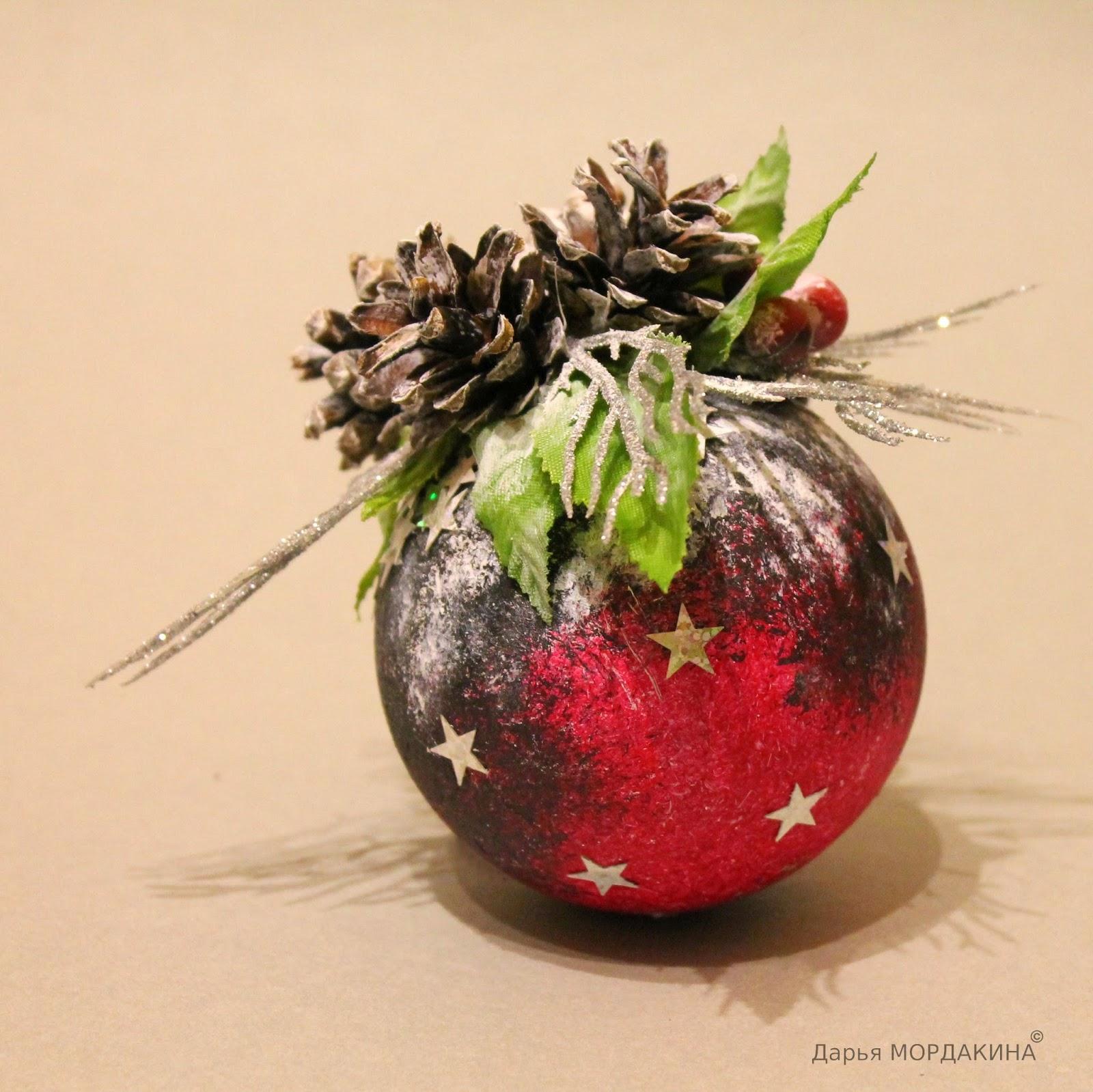 zimnee utro, розовый, зимнее утро, rozovyj, шар, шишки, елка, новый год, шарик,зима, снег
