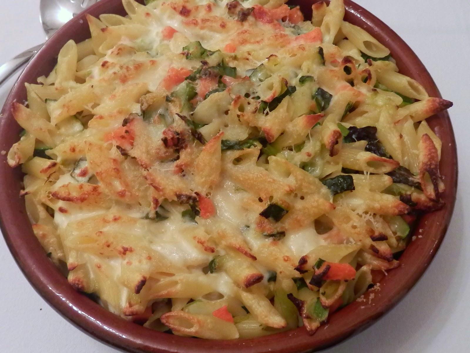 Vegetable Pasta Gratin