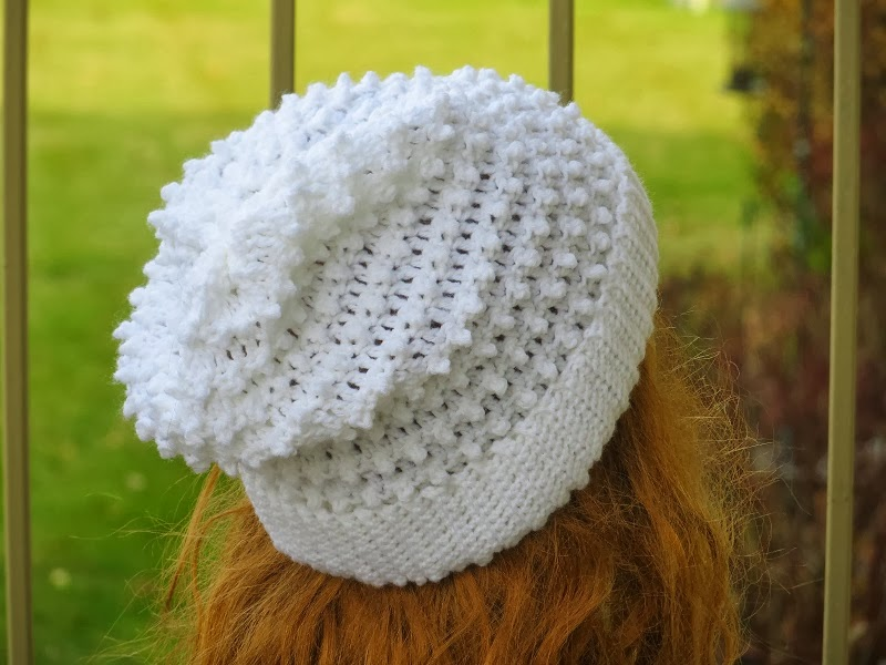 Crochet Hat Patterns Beanie : Crochet Dreamz: Claudia Beanie, Crochet Slouchy Hat ...