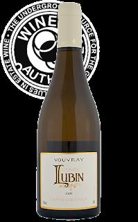 Domaine de la Croix des Vainqueurs, Cuvée Lubin (sweet wine), Vouvray, 2009