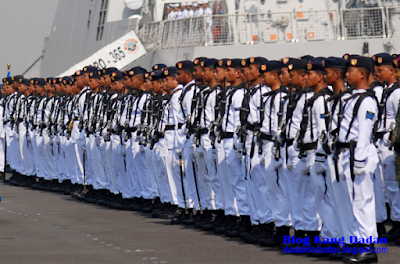 Penerimaan Tamtama TNI AL