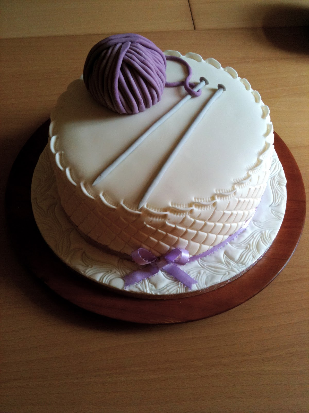 Knitting Birthday Cake Images : The knitting needle and damage done is a