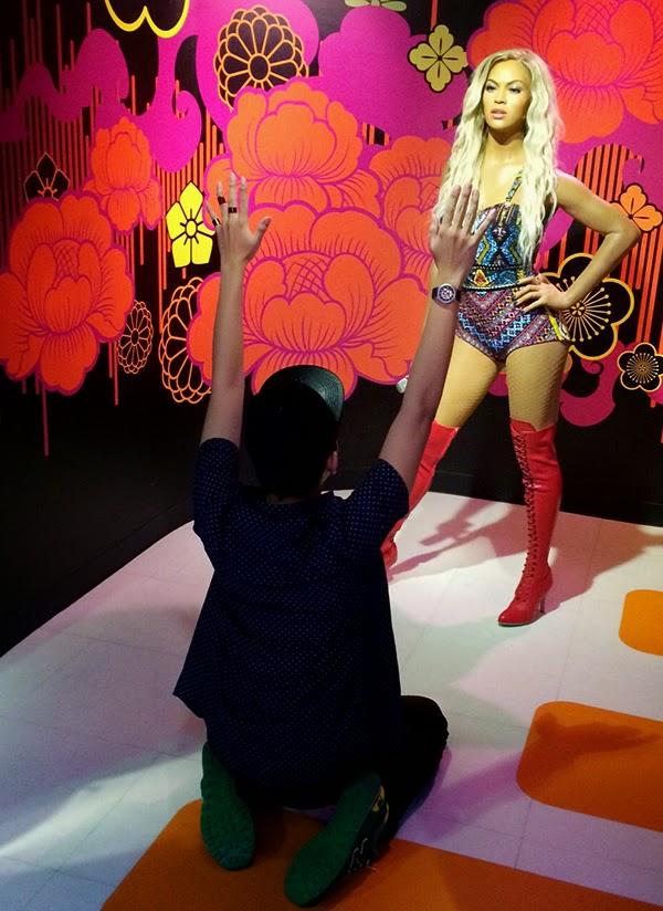 Madame Tussauds Singapore #thinkbigAGT