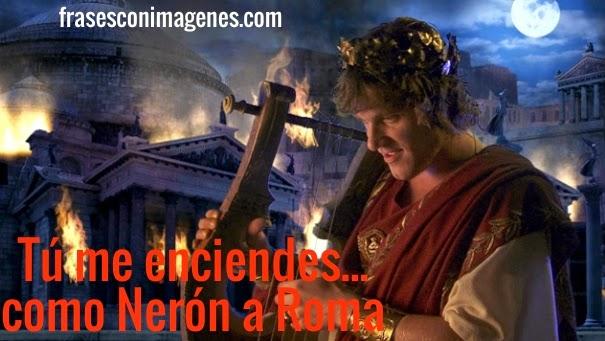 Piropo de Nerón y Roma