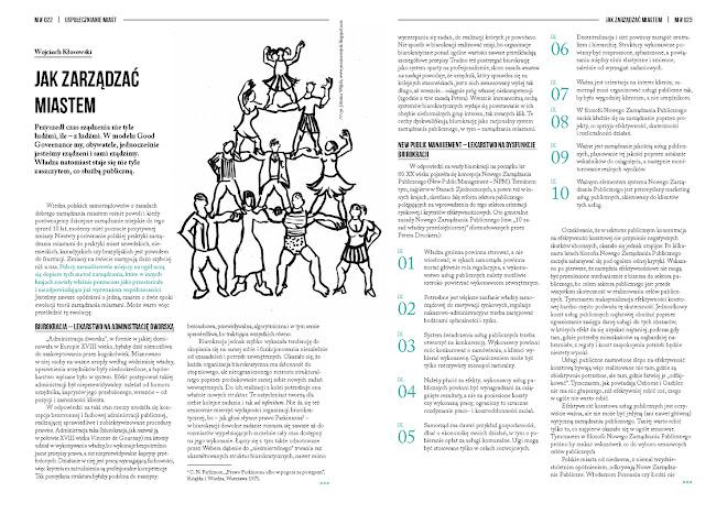 Magazyn Miasta, ilustracje do tekstu Wojciecha Kłosowskiego