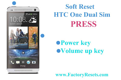 Soft Reset HTC One Dual Sim