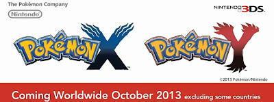 Pokémon X and Y for the Nintendo 3DS