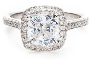 The Ideal Cushion Cut Diamond Engagement Rings For Your Fiancee
