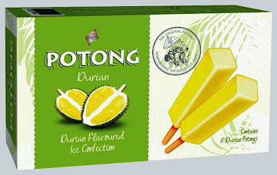 King's Potong Durian, king's, ice cream, new packaging