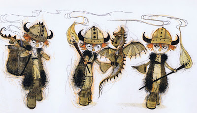 Living lines library how to train your dragon 2010 character design by nico marlet ccuart Choice Image