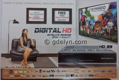 jual receiver,receiver HD,Skynindo HD99