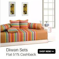 Buy Salona Diwan Sets Extra 51% Cashback :buytoearn