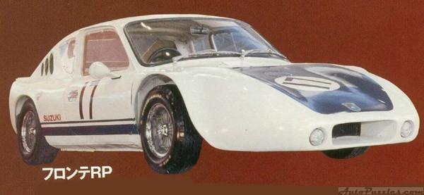 suzuki fronte rp, wyścigowe małe auta, motoryzacja z Japonii, JDM, wyścigi, sport