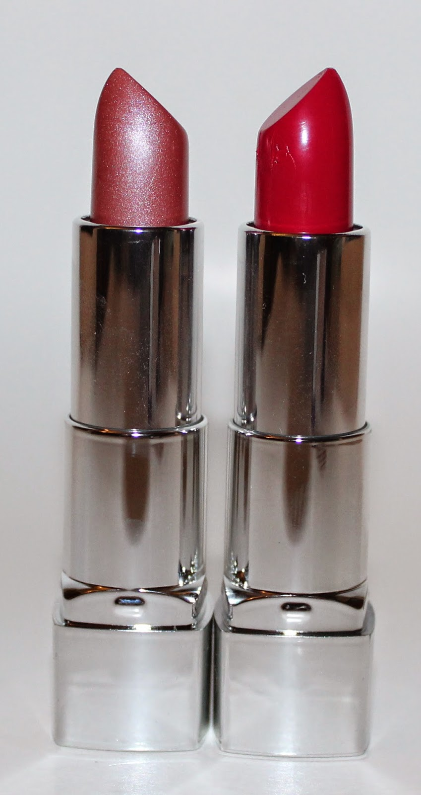Rimmel Moisture Renew Lipstick in #125 To Nude or Not to Nude? & #360 As You Want Victoria