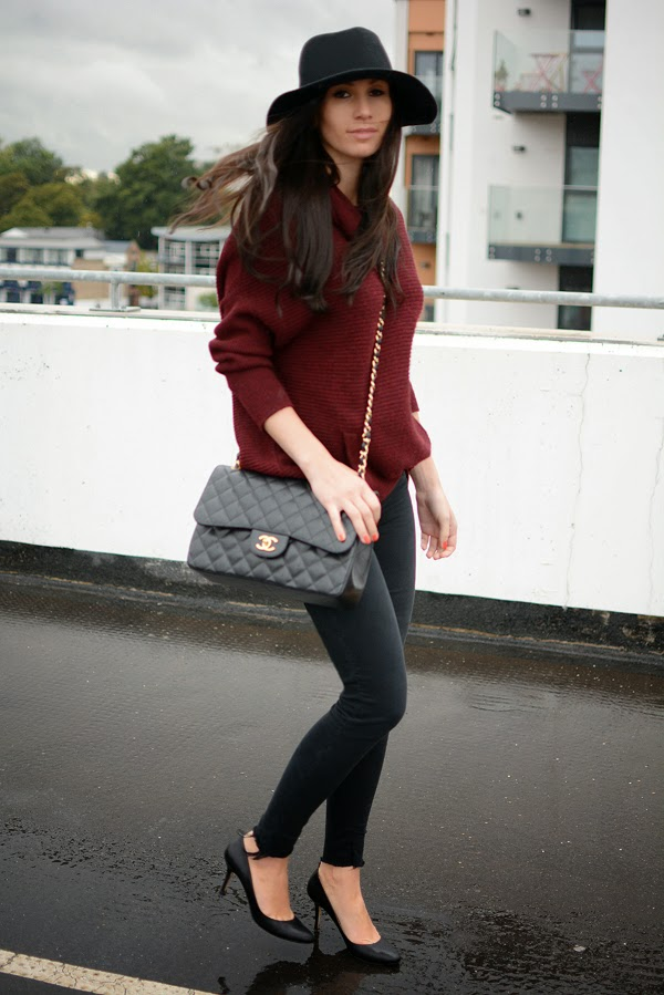 Outfit Hat Chanel Cosy Jumper