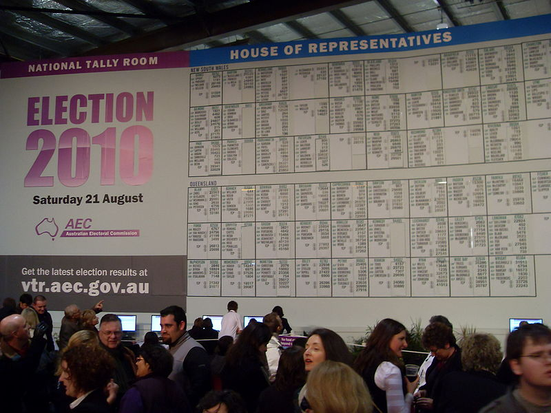 National Tally Room, ABC, Antony Green, election