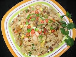 Cơm Tiều Châu nấu nước dừa