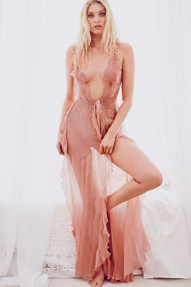 Elsa Hosk - Victoria's Secret May Latest Lookbook