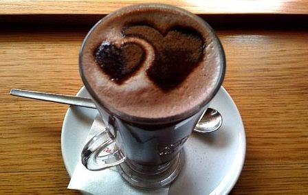 Resep Cara Membuat Hot Chocolate Caramel